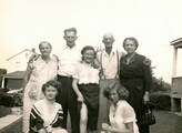 ?, Bill, Marge, ?, Wilma, Mitzi, and Mary Lou.